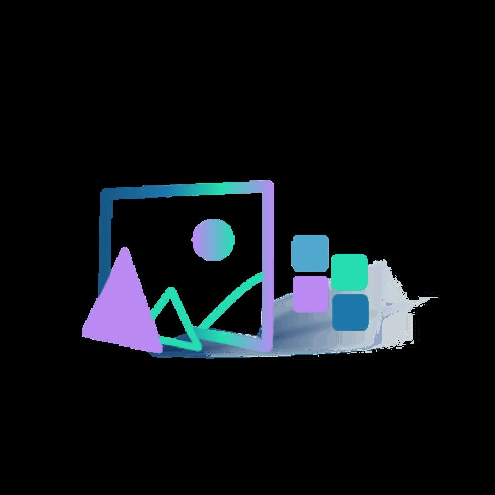 Online image color palette