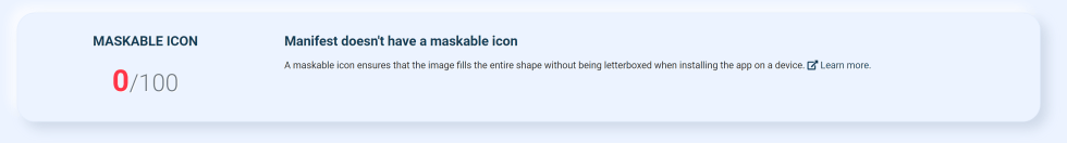 maskable icon